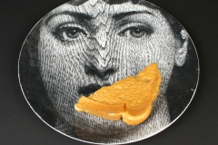 Piero Fornasetti Lina with grilled cheese
