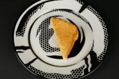 Roy LIchtenstein Pop Art with grilled cheese