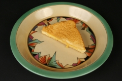 Royal Rochester Modernisitic Art Deco pie plate 1923-1939