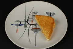 Shenango China Well of the Sea with grilled cheese