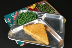 TV Dinner with grilled cheese