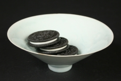 Chinese Song dynasty Qingbai ware with oreos
