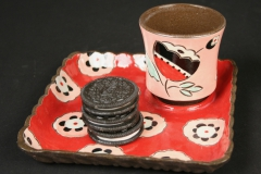 Colleen McCall snack set with oreos