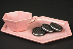 Cowan Pottery with oreos