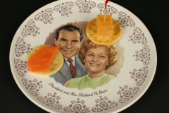 Nixon Commemorative plate 1978 with appetizers