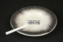 Tepco ashtray with candy cigarette