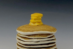 Alice Abrams Pancake Lidded jar ceramic