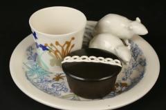 Guy Michael Davis Katie Parker Rat Snack Set with Hostess cupcake