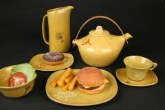 Glidden Pottery Alfred Stoneware Sergio Dello Strologa 1956