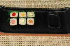 Paul Eshelman with sushi