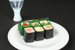 Russel Wright Theme Formal 2015.72 with sushi