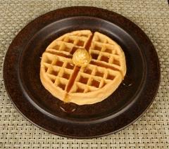Arabia Ruska Ulla Procope designed dinner plate with waffle