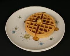 Franciscan Starburst Gladding McBean with waffle