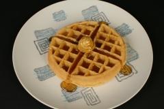 Royal China Patio pattern Prestige shape with waffle