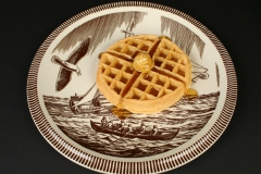 Vernon Kiln Rockwell Kent Moby Dick with waffle